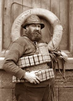 During a great storm on 9 February 1861 the crew of the Whitby lifeboat put to sea for the sixth time that day. Whitbys lifeboat capsised with the loss of all but one of the crew,Henry Freeman. Vintage Photographs, Vintage Photos, Oldschool, Historical Photos, Old Photos, Old Things, Black And White, The Past, Pictures