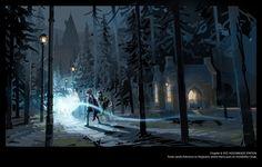 Harry Potter Concept Art