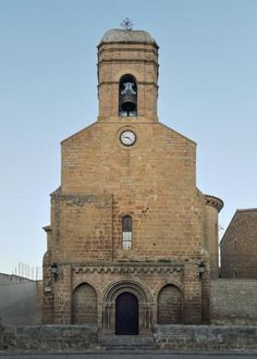 Carcastillo - Merindad de Tudela, Navarra #románico #carcastillo #navarra