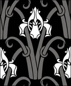 Art Nouveau stencils from The Stencil Library. Buy Art Nouveau ...