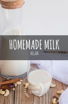 Não sou intolerante à lactose, mas opto bebidas vegetais porque têm mais sabor, são muitos mais leves e cheias de nutrientes. Queres experimentar fazer a tua?