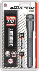 Maglite Mini PRO LED 2-Cell AA Flashlight with Holster Gray Youtube Comments, Good Manufacturing Practice, Led Flashlight, Life Hacks, Lights, Mini, Gray, Crescent Rolls, Grey