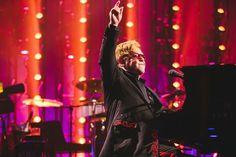 Imagem: Elton John mostra talento em festival de música
