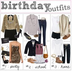 Birthday Outfit Ideas For School Pictures Birthday Outfit Ideas For School. Here is Birthday Outfit Ideas For School Pictures for you. Birthday Outfit Ideas For School birthday outfit ideas for Summer Birthday Outfits, Birthday Outfit For Teens, Casual Summer Outfits, Outfits For Teens, Fashion Outfits, Fashion Fashion, Fashion Ideas, Dress To Impress, Polyvore Fashion