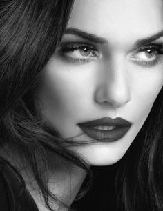 Rachel Weisz B&W                  Beautiful Women With Gorgeous Long Hair: Posted by Ciao Bella and Venus Hair Extensions.