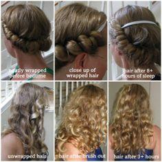 headband curls