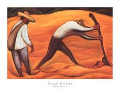 Peasants by Diego Rivera