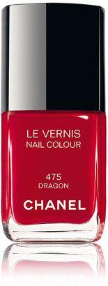 Chanel Le Vernis Nail Varnish in 'Dragon' Chanel Nail Polish, Chanel Nails, Red Nail Polish, Chanel Makeup, Red Nails, Dragon Nails, Shops, Nails Inc, Colors