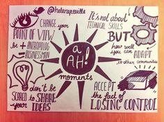 #SenseCamp Aha moments