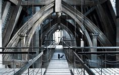 Harry Potter and the Deathly Hallows part 2 (2012, dir. David Yates). Production Designer Stuart Craig. Art Director Neil Lamont& Gary Tomkins. Set DecoratorStephenie McMillan.