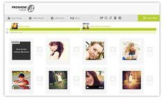 ProShow, crea vídeos a partir de tus fotos con esta utilidad web