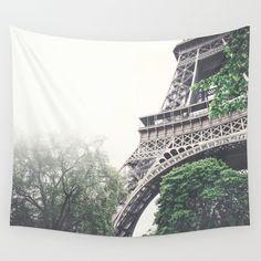 Eiffel Tower, Paris Wall Tapestry by ncherna.