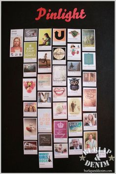 Young Women 2012 Arise and Shine Forth -- bulletin board that looks like a pinterest board.  Holy amazing!