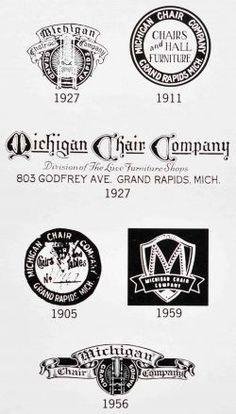 1890 U2013 1946 U2013 1972 Grand Rapids, Michigan COMPANY HISTORY Owners Of Grand  Ledge Chair Co. In Grand Ledge, Michigan Move To Grand Rapids And Begin  Michigan ...