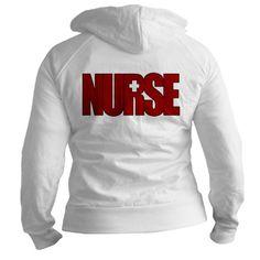 I want this!!!! NURSE BIG RED Jr. Hoodie