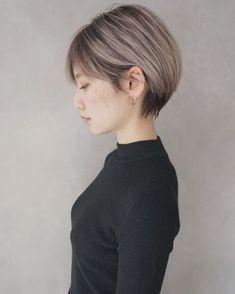 Asian Short Hair, Girl Short Hair, Bob Hair Color, Medium Hair Styles, Long Hair Styles, Pelo Pixie, Shot Hair Styles, Short Bob Hairstyles, Trendy Hairstyles