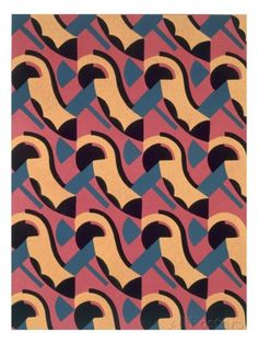 Design from 'Nouvelles Compositions Decoratives', Late 1920S (Pochoir Print) Giclee Print