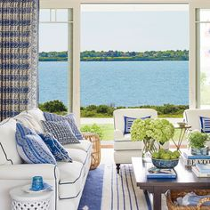 I've been wishing I were in Rhode Island to visit Coastal Living's 2017 Idea House. Decorated by the brilliant Mark D. Sikes, the Newport home is blue and white perfection. If you're in the area, the sprawling cedar-and-shiplap home is open for tours until September 4. Below, enjoy photos by Amy Neunsinger of the timeless …