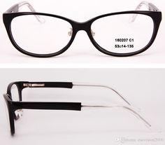 cdd385a4a31 New Arrival 2017 Fashion Women And Men Eyeglasses Frames Designer Eyeglass  Frame Full Rim Acetate Optical Frame With Clear Lens 160207 Clear Eyeglasses  ...