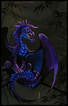 Baby Dragon - by Nico Niemi from dragons   (To see more baby dragons and dragon eggs, see my board, Dragon Babies & Eggs)