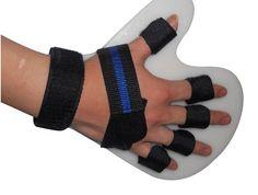 Nueva Finger mano Plate separar rehabilitación hemiplejia y parálisis Cerebral o infarto espasmo deformidad ortesis(China (Mainland))