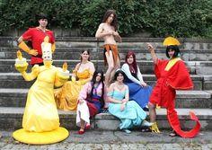 disney cosplay   disney cosplay group 1 by ~shiny-kiyoko on deviantART