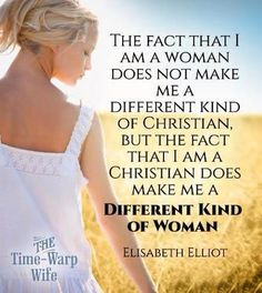 Elisabeth Elliot - oh that I might be the woman of God that points others to Jesus