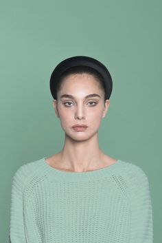 Black Velvet Headband. Made in Italy by #Bluetiful craftmen