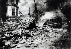 90 years ago -- Great Kanto Earthquake causes unprecedented damage to capital region (September 01, 1923) -  An earthquake with a magnitude of 7.9 strikes the greater Tokyo metropolitan area around noon, causing the worst natural disaster in Japanese history. More than 140,000 people died or went missing as a result of the Great Kanto Earthquake.