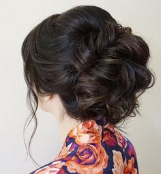 Featured Hairstyle: Heidi Marie Garrett of Hair and Makeup Girl;hairandmake… Featured Hairstyle: Heidi Marie Garrett of Hair and Makeup Wedding Makeup Tips, Hair And Makeup Tips, Hair Makeup, Bride Makeup, Wedding Hairstyles For Girls, Elegant Wedding Hair, Trendy Wedding, Special Occasion Hairstyles, Corte Y Color