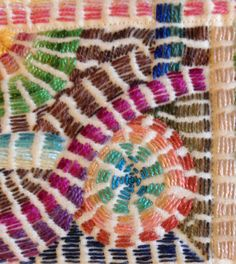 A Quilty Vacation | embroidered quilt by Debby Schnabel | Debby Quilts