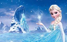Disney Frozen Elsa Widescreen Wallpaper