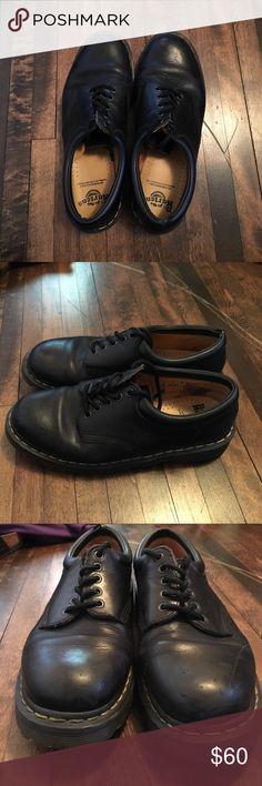 Dr. Martens Airwair Black Dr. Martens Airwair with Air Cushioned Sole Size 10 men's Dr. Martens Shoes Oxfords & Derbys