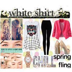 """""""Bring Ur Sexy White"""" by hartantinora on Polyvore"""