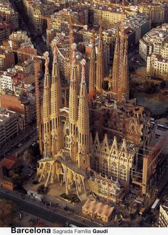 Sagrada Familia Aerial View, Barcelona (For Trade) | Flickr - Photo Sharing!