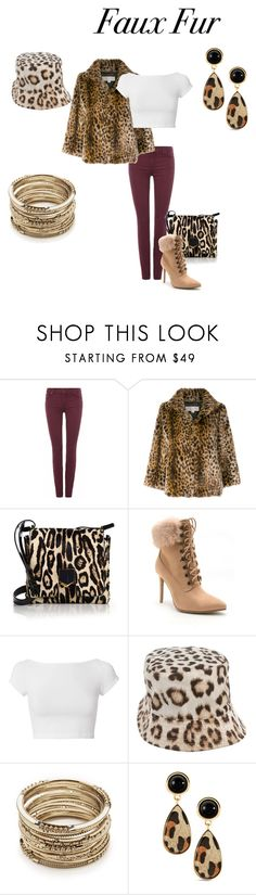 """""""I see Spots!!"""" by tedegirl ❤ liked on Polyvore featuring 7 For All Mankind, MICHAEL Michael Kors, Jimmy Choo, Venus, Helmut Lang, Roberto Cavalli, Sole Society and fauxfur"""