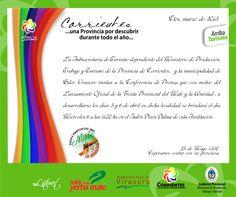 Corredor Turístico de las misiones jesuítico Guaraníes: Se aproxima la 1° Fiesta del Mate y la Amistad en Gobernador Virasoro #ArribaCorrientes