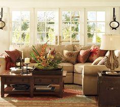 Lekker cozy voor de openslaande tuindeuren, droom bijna in vervulling??? #leenbakker <3