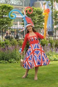 Miss Ballooniverse rocks ascot CocoPerez Gallery - Crazy Royal Ascot Hats Part 1!