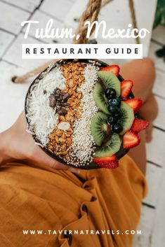 Tulum, Mexico Dining Guide: 7 Restaurants That You NEED to Try! @tavernatravels