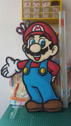 Dulcero/cotillón/caja regalo  Mario Bros