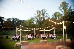 Southern Farm Wedding.