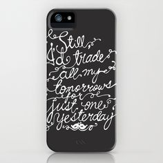 Fall Out Boy - 'Just One Yesterday' iPhone & iPod Case by Stelle - $35.00