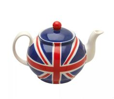 Union Jack Tea Pot. Absolutely must have this!