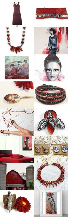 Deep Rouge by Peggy on Etsy--Pinned with TreasuryPin.com