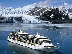 I've been wanting to go to Alaska for YEARS. I want to go on a cruise to Alaska for the sheer convenience of it all.