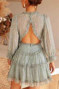 Cute Casual Outfits, Casual Dresses, Short Dresses, Fashion Dresses, Summer Dresses, Open Back Dresses, Girly Outfits, Casual Chic, Sexy Dresses