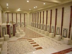 Design of Muslims Prayer Area
