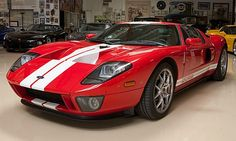 Jay Leno's #12 (1st available number for sale) 2005 Ford GT. His garage is amazing!