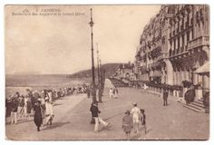My great-grandmother's postcard from Cabourg (France), 1920